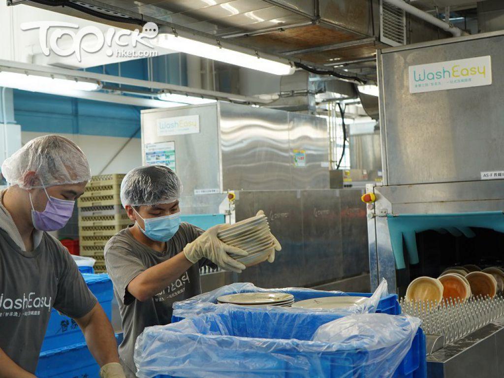 「智易洗」業務發展主任利穎珊(Wing)表示,殘疾員工可在洗碗工場找到自己的價值,人也較開心。