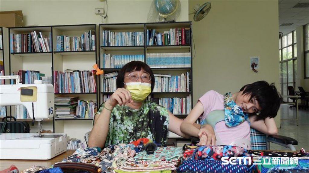 張素珠表示,自己對人生會如此「看開」,其實也是因為虹安,還有看過許多辛苦的病友,就此轉念。