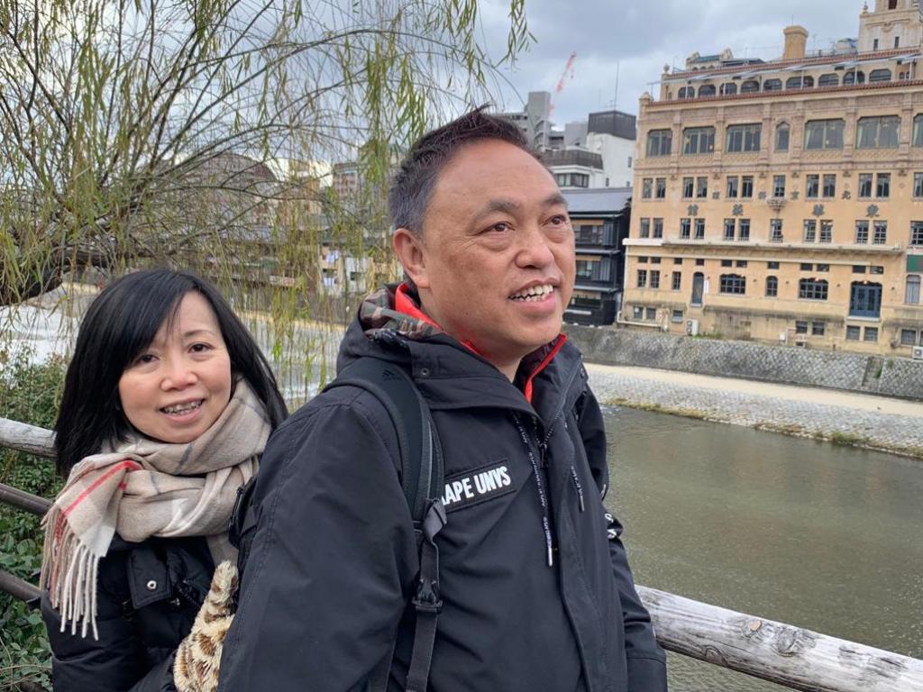 兩夫婦喜歡周遊列國,每年必到泰國、日本等地玩。
