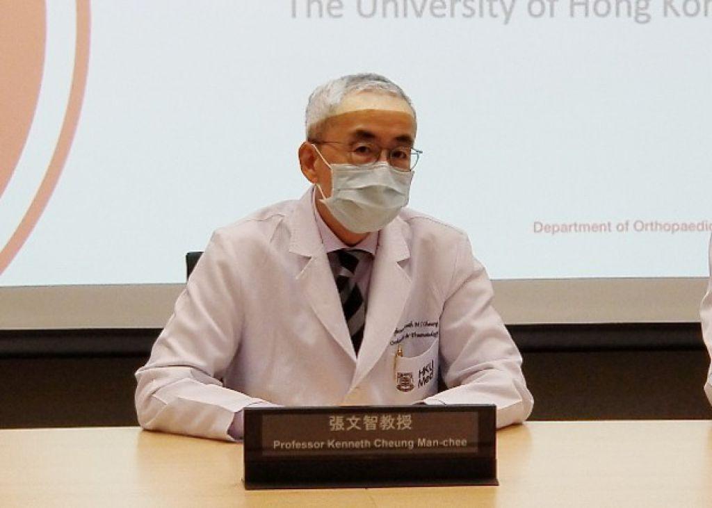 張文智表示,引入機械腳最大目的是讓患者復康,甚至重新步行。