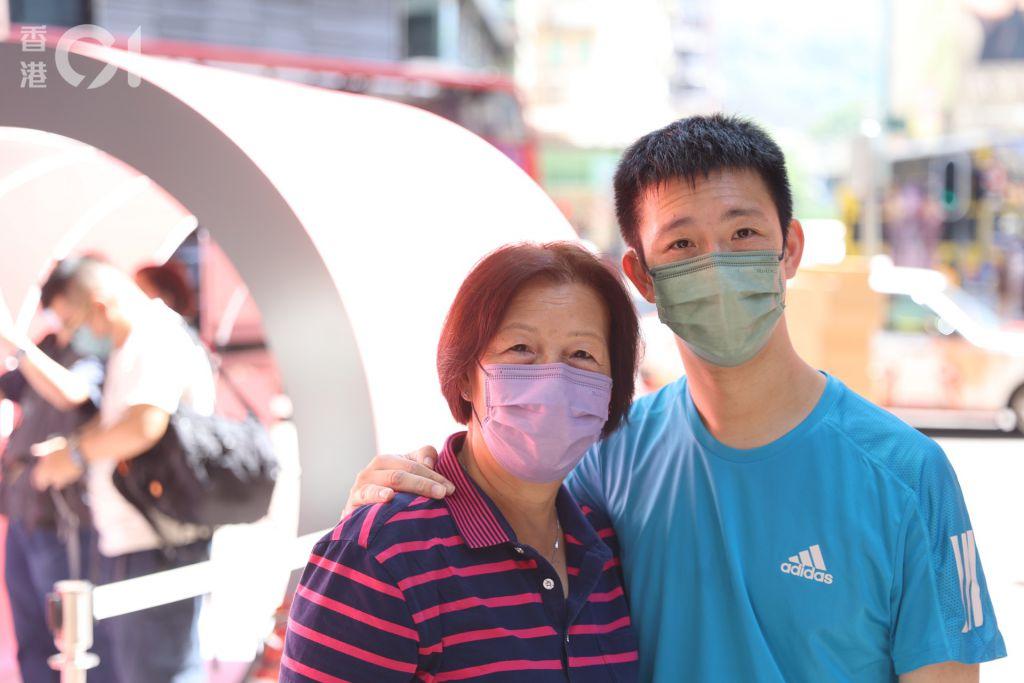前香港殘奧代表蘇樺偉表示,過往運動員生涯不簡單,過程讓他學懂不放棄,堅持自己目標和夢想。