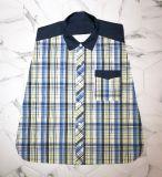 男裝恤衫款口水肩 (兩色可選) 縮略圖 -1