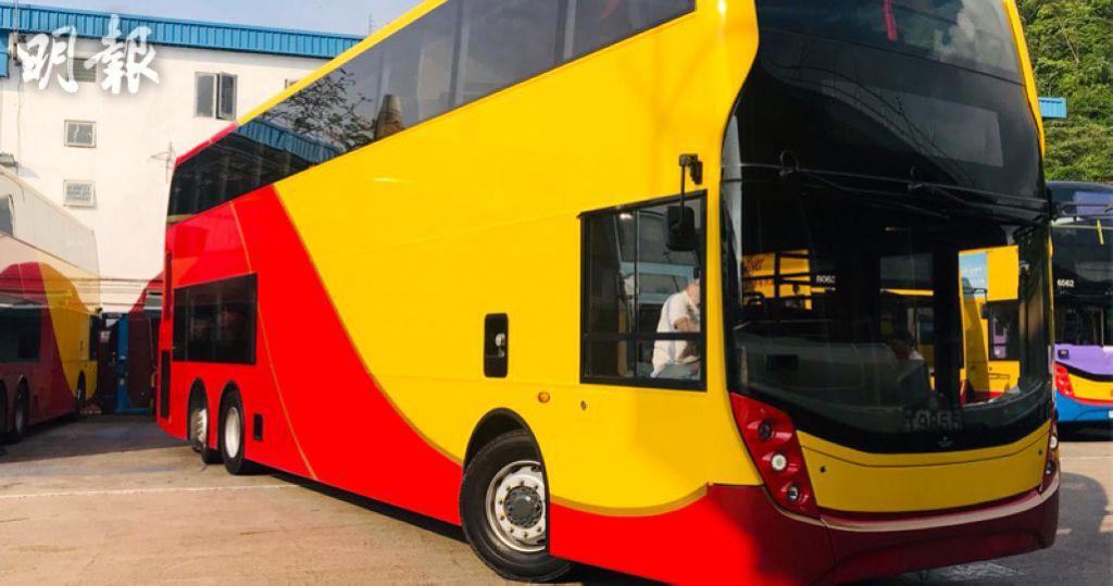 新巴城巴引入安全科技巴士