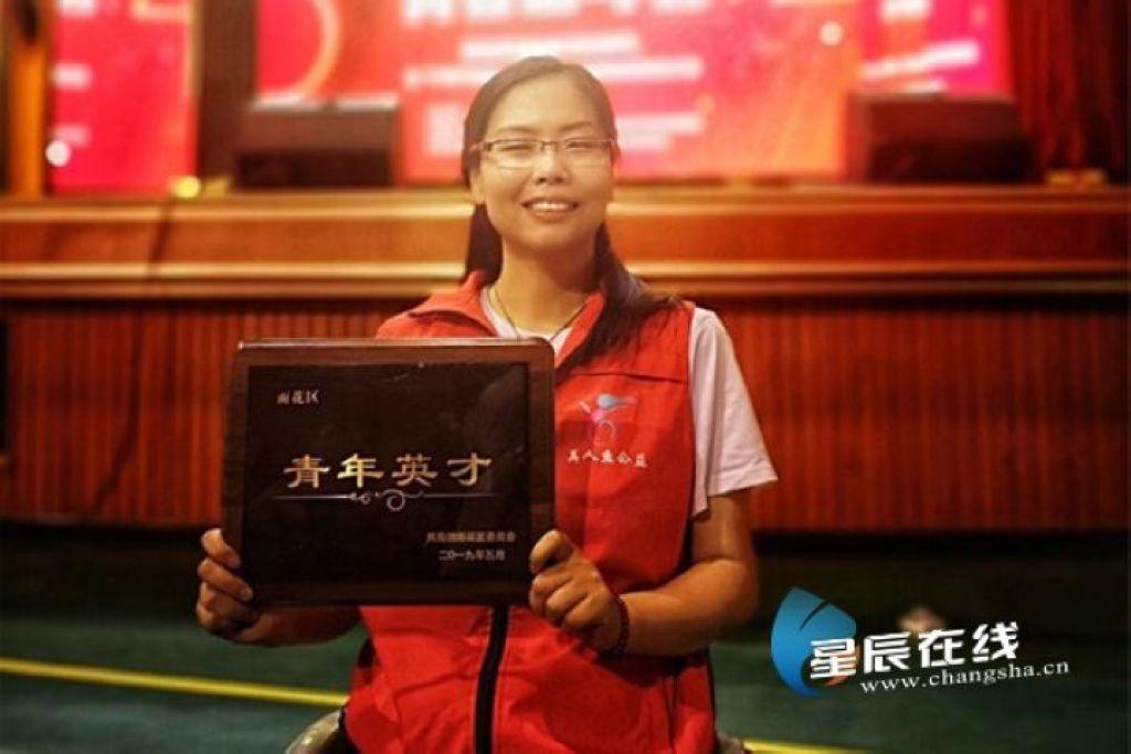 中国好人肖卓作:轮椅上做公益十馀年用奉献谱写人生主旋律