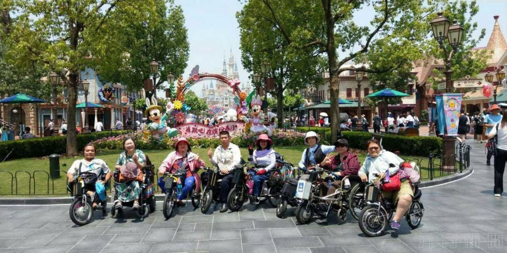 两岸旅游史最大身障轮椅族首访福建、上苏杭旅游
