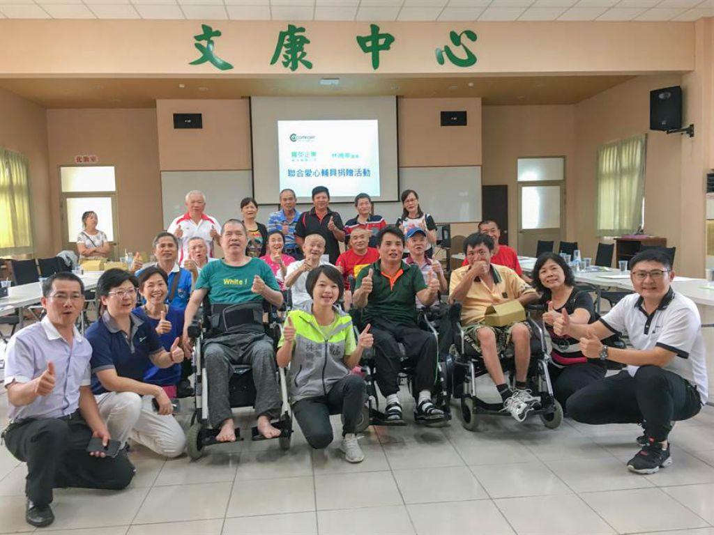 议员媒合脊髓损伤协会与电动轮椅业者 伤友:可以自己去逛街了