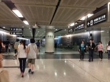 中環站往香港站的通道