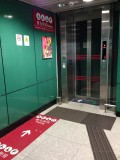 B出口電梯往地面出口