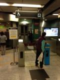 月台设有电梯往大堂