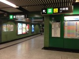B出口设有电梯往地面出口