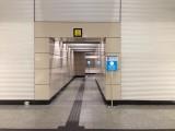 月台往大堂的升降机