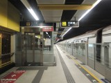 電梯位於往荃灣方向列車車尾位置