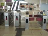 站內設有少量闊閘機
