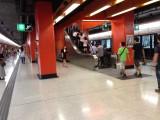 荔枝角站月台