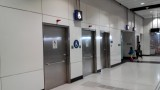 站内设有伤残人士洗手间,位于闸口旁边