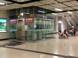 位於大堂連接月台的升降機