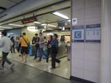 旺角东站C出口,不设阔闸,出口面对为巴士总站。