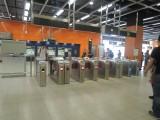 寶琳站有三個出口,但使用同一個出閘位置