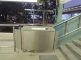 馬場月台設有輪椅升降台