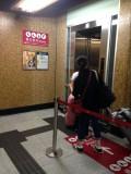 月台往A-D出口大堂的電梯