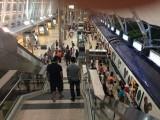 欣澳站月台