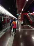 太古站月台通道