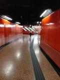 車站月台通道