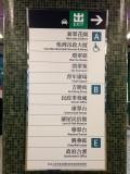 車站出入口指示牌