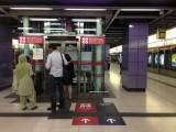 月台往大堂的电梯