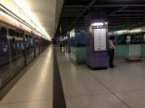 东涌站月台