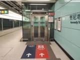月台設有升降機往大堂