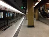 長沙灣站月台